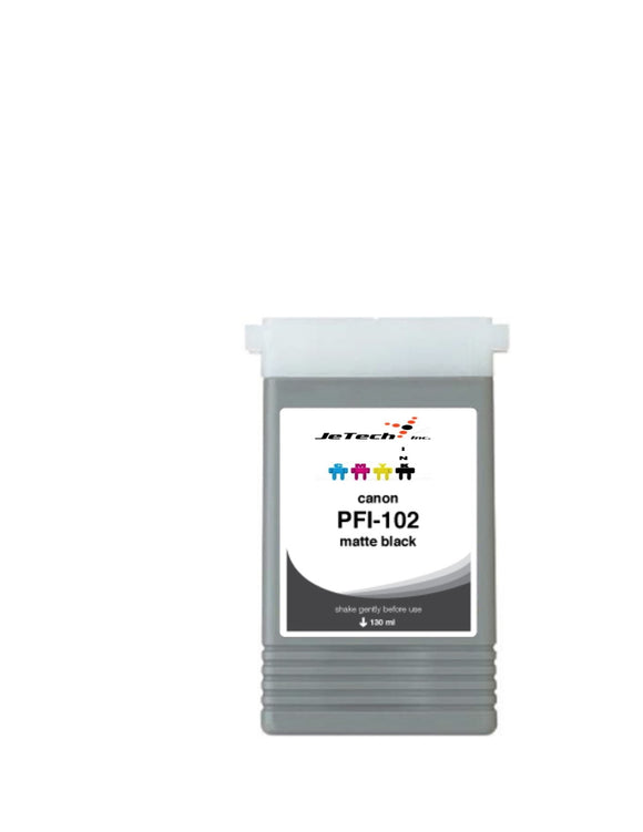 Canon PFI-102MBK Matte Black 130mL Ink cartridge