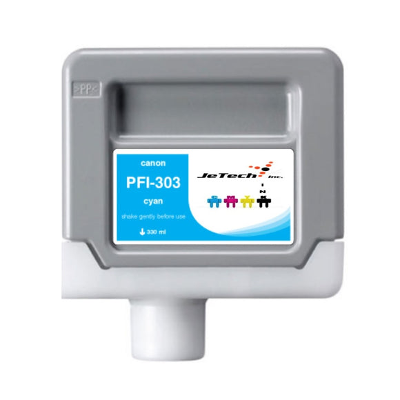 Canon PFI-303C 330ml Cyan ink cartridge