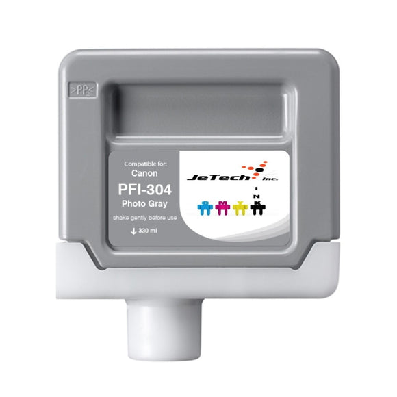 InXave Canon PFI-304PGY 330ml Photo Gray ink cartridge
