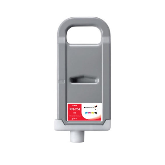 InXave Canon Lucia PFI-704 700ml Red ink cartridge