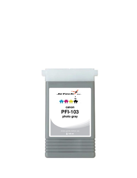 Canon PFI-103PGY Photo Gray 130mL Ink cartridge