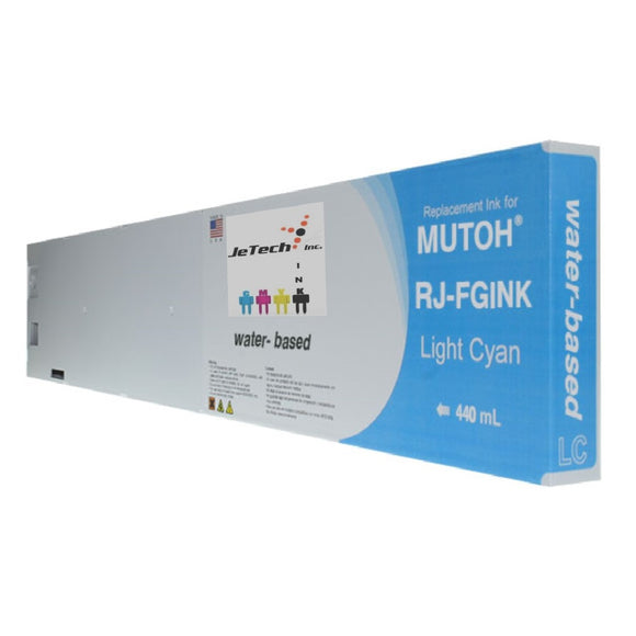 Mutoh RJ-FGINK-LC Light Cyan 440ml ink cartridge