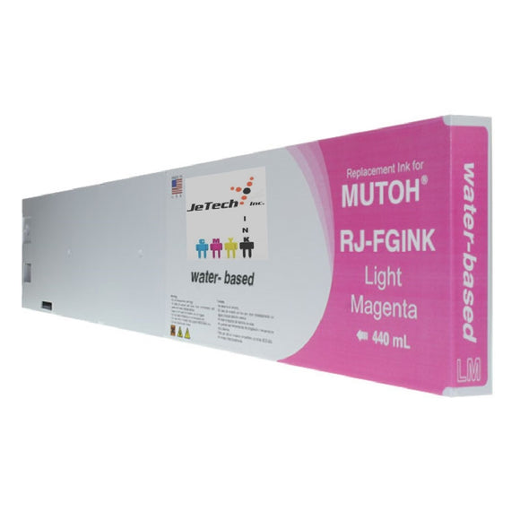 Mutoh RJ-FGINK-LM Light Magenta 440ml ink cartridge
