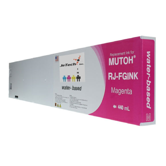 Mutoh RJ-FGINK-MA Magenta 440ml ink cartridge