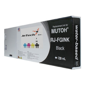 Mutoh RJ-FGINK-BK2 Black 220ml ink cartridge