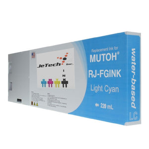 InXave Mutoh RJ-FGINK-LC2 Light Cyan 220ml ink cartridge