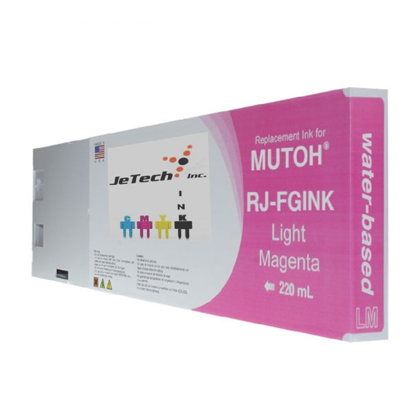 Mutoh RJ-FGINK-LM2 Light Magenta 220ml ink cartridge