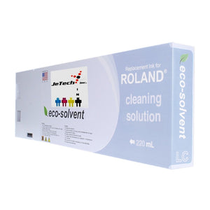 Roland ESL4-4CS Max2 Eco Solvent 220ml-Cleaning Solution