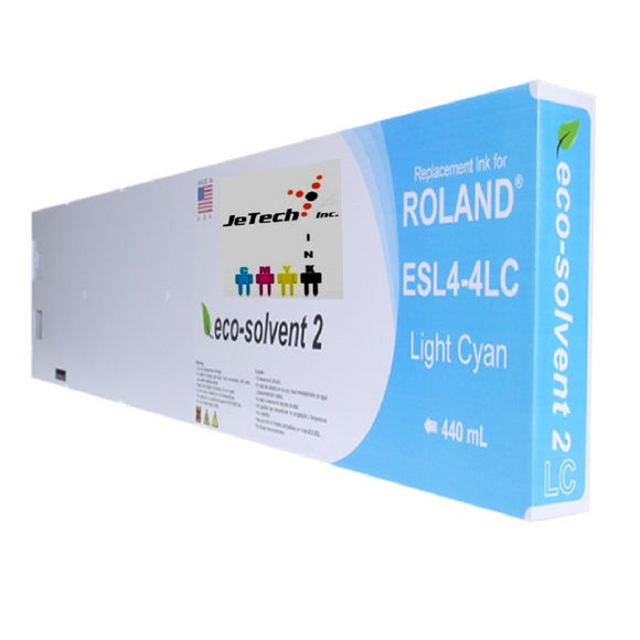 Roland ESL4-4LC Max2 Eco Solvent 440ml- Light Cyan
