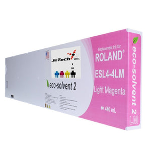 Roland ESL4-4LM Max2 Eco Solvent 440ml- Light Magenta