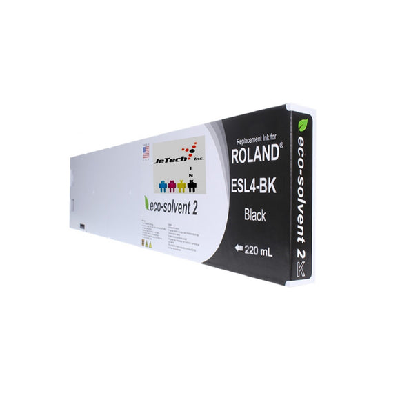 Roland ESL4 Max2 220ml Eco Solvent Cartridge Black