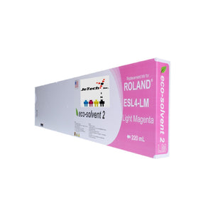 Roland ESL4 Max2 220ml Eco Solvent Cartridge Light Magenta