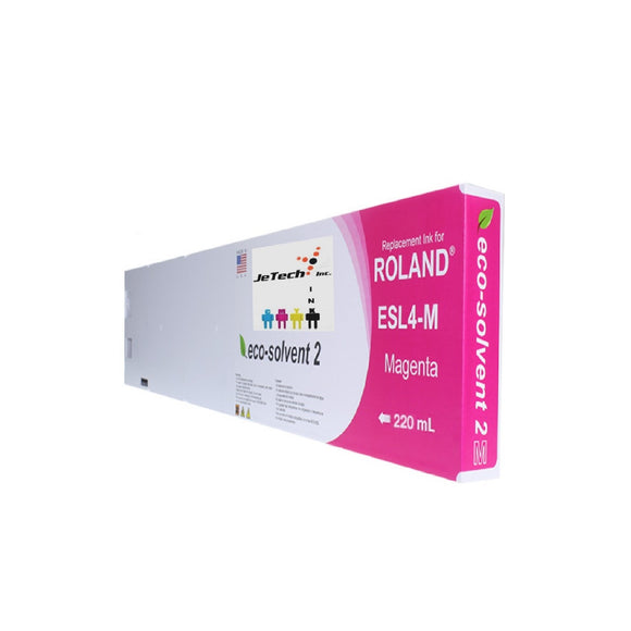 Roland ESL4 Max2 220ml Eco Solvent Cartridge Magenta