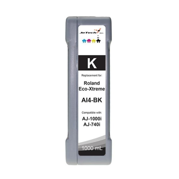 Roland Eco-xtreme AI4 1000ml ink cartridge Black