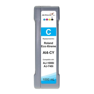 Roland Eco-xtreme AI4 1000ml ink cartridge cyan