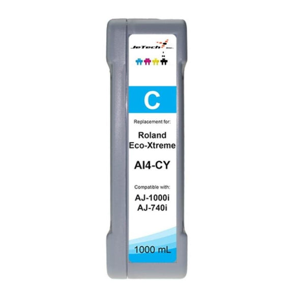 InXave Roland Eco-xtreme AI4 1000ml ink cartridge cyan