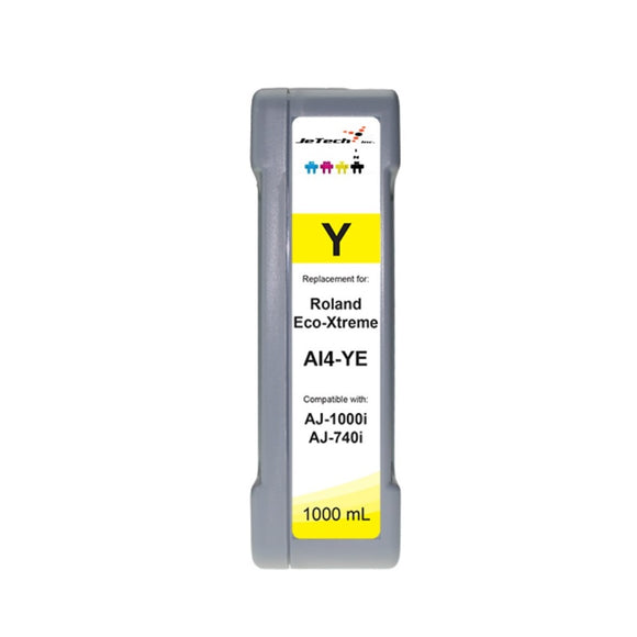 Roland Eco-xtreme AI4 1000ml ink cartridge Yellow