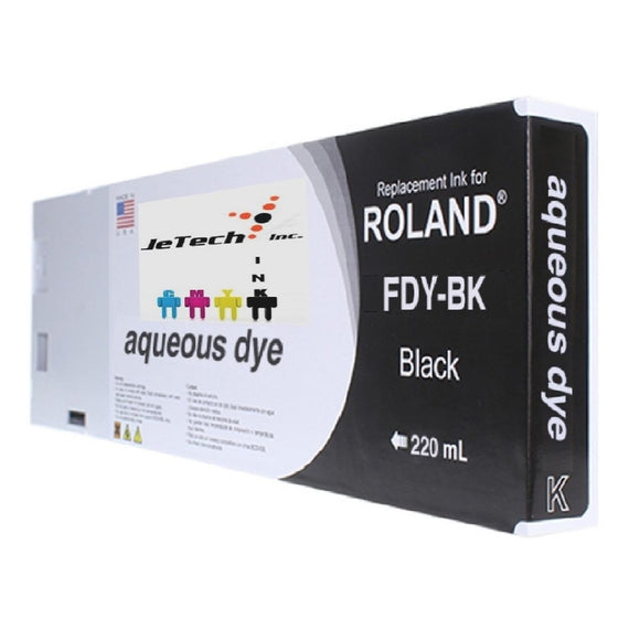 Roland* Aqueous Dye 220ml (FDY-BK) Black
