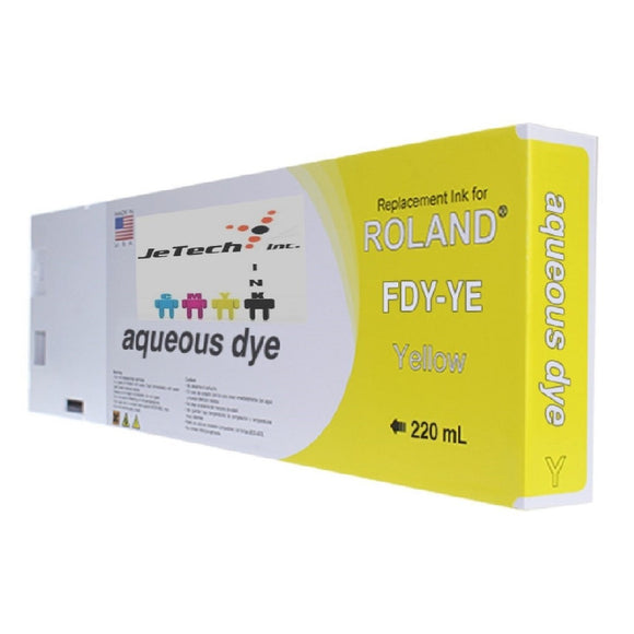 Roland* Aqueous Dye 220ml (FDY-YE) Yellow