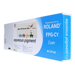 Roland Aqueous Pigment FPG-CY 220ml Cyan