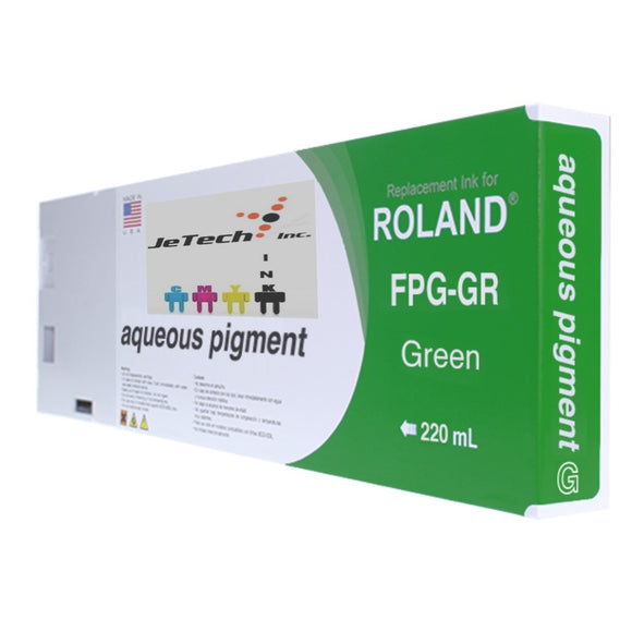 Roland Aqueous Pigment FPG-GR 220ml Green