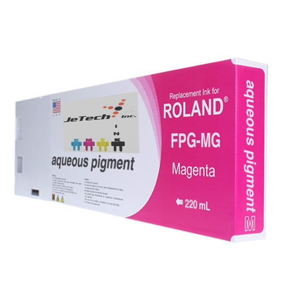Roland Aqueous Pigment FPG-MG 220ml Magenta