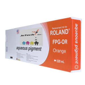 InXave Roland Aqueous Pigment FPG-OR 220ml Orange