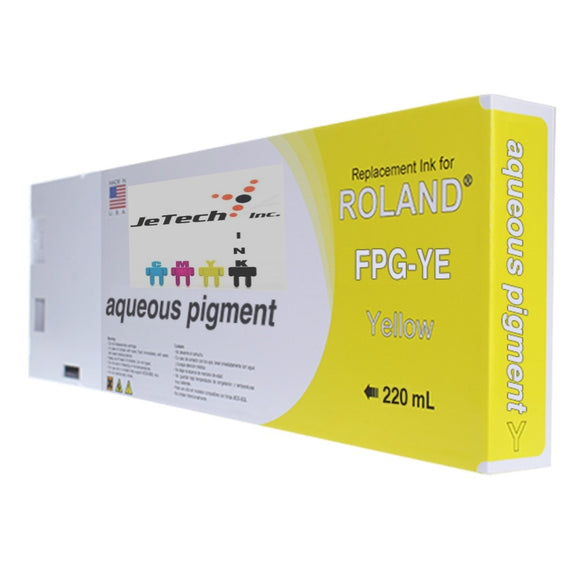 Roland Aqueous Pigment FPG-YE 220ml Yellow