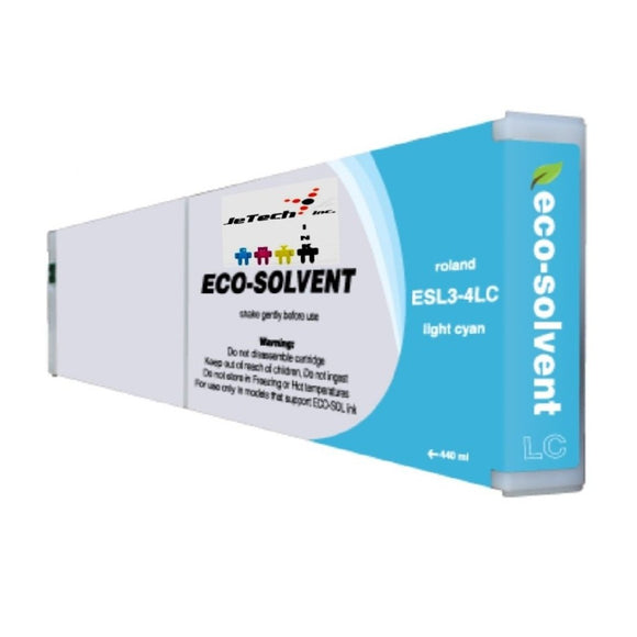 Roland ESL3 400ml Compatible cartridge Light Cyan