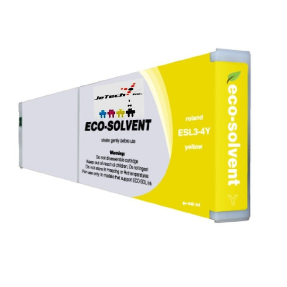 InXave Roland ESL3 400ml Compatible cartridge yellow