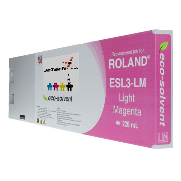 Roland ESL3 220ml Eco solvent ink cartridge light magenta
