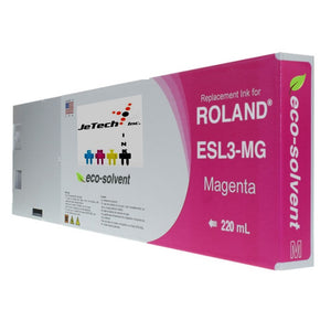 Roland ESL3 220ml Eco solvent ink cartridge magenta
