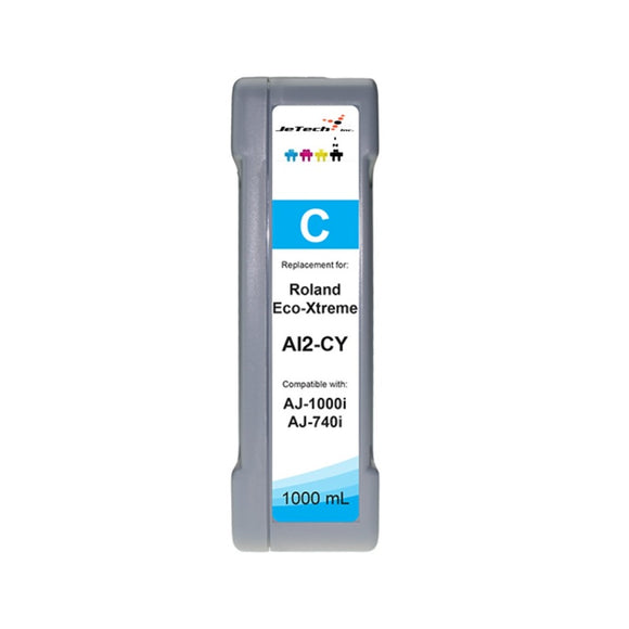 InXave Roland Eco-xtreme AI2 1000ml ink cartridge cyan