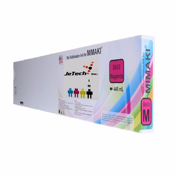 Mimaki SB53-M-44 dyesub ink cartridge 440ml magenta
