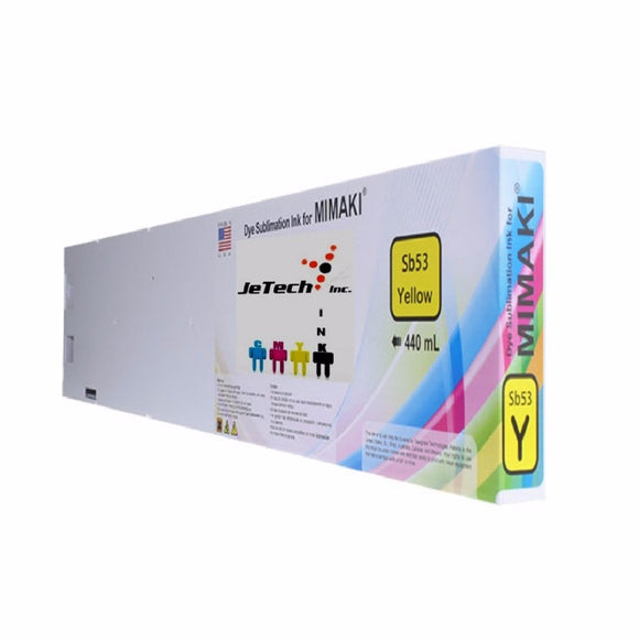 Mimaki SB53-Y-44 dyesub ink cartridge 440ml yellow