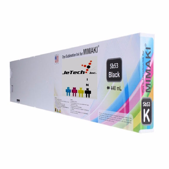 Mimaki SB53-K-44 dyesub ink cartridge 440ml Black