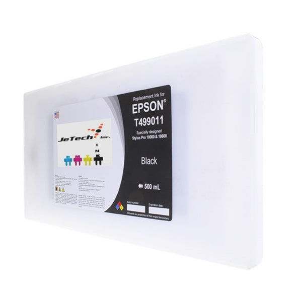 Epson T499011 Compatible Black 500ml Ink Cartridge