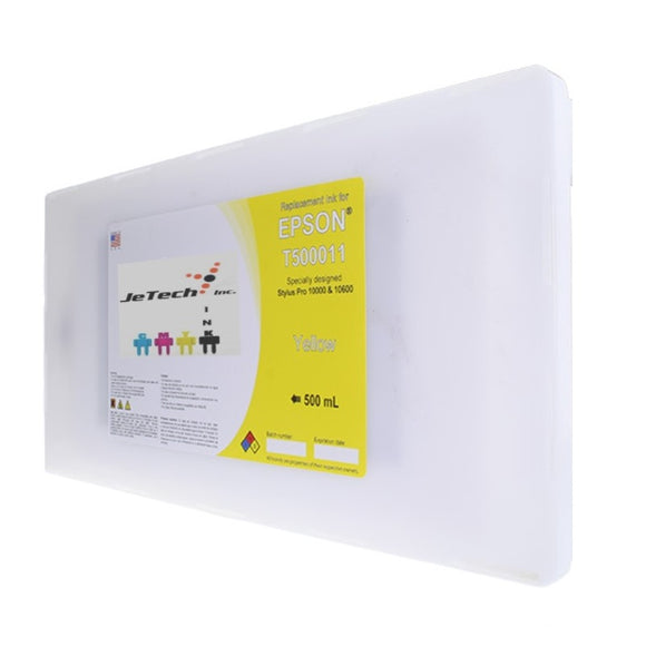 Epson T500011 Compatible Yellow 500ml Ink Cartridge