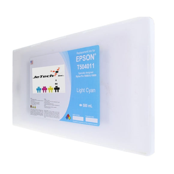 Epson T504011 Compatible Light Cyan 500ml Ink Cartridge