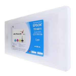 Epson T514011 Compatible Cyan 500ml Ink Cartridges