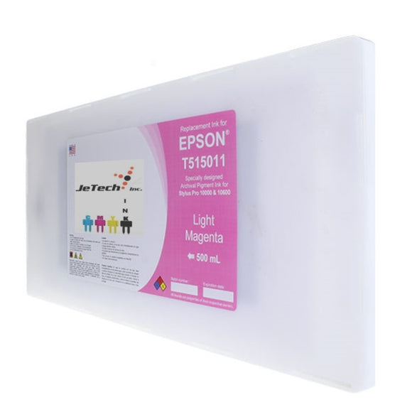 Epson T515011 Compatible Light Magenta 500ml Ink Cartridges