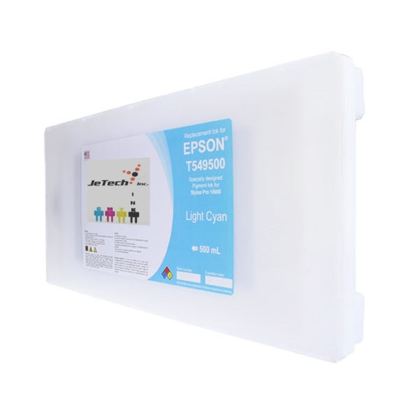 InXave Epson T549500 Compatible Light Cyan 500ml Ink Cartridges