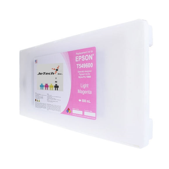Epson T5496 Compatible Light Magenta 500ml Ink Cartridges