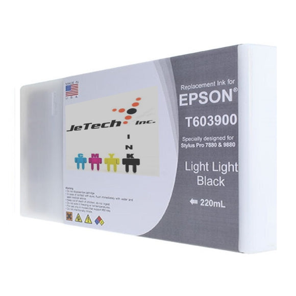 Epson T603900 220ml ink cartridge ultrachrome k3 Light Light Black