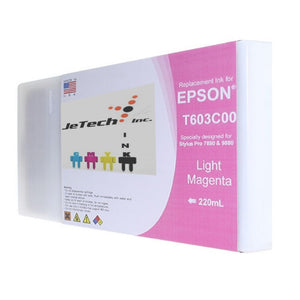 Epson T603C00 220ml ink cartridge ultrachrome k3 Light Magenta