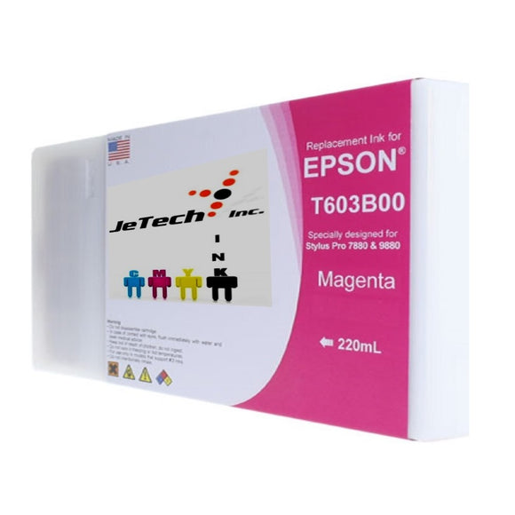 Epson T603B00 220ml ink cartridge ultrachrome k3 Magenta