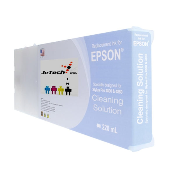 Epson Compatible Cleaning Solution 220ml Ink Cartridges