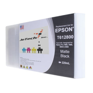 InXave Epson T612800 220ml ink cartridge ultrachrome k3 Matte Black
