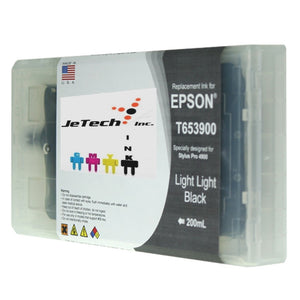 InXave Epson T653900 Compatible Light Light Black 200ml Ink Cartridge