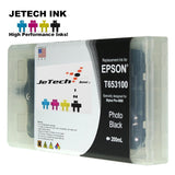 Epson T653100 Compatible Photo Black 200ml Ink Cartridge JeTechInk